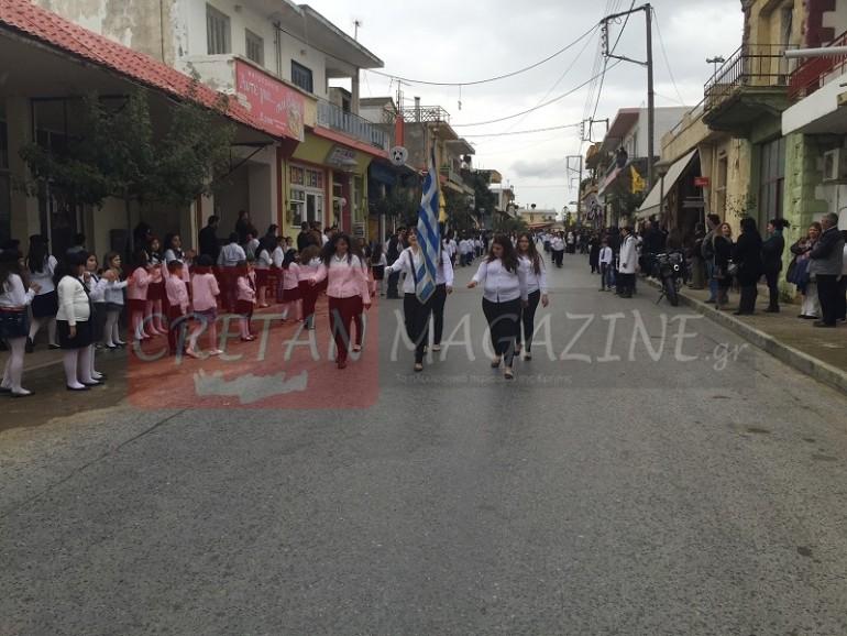 Παρέλαση 25ης Μαρτίου στους Αγίους Δέκα