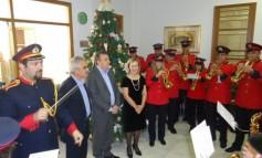 Με Χριστουγεννιάτικες μελωδίες «πλημμύρισε» σήμερα η Περιφέρεια Κρήτης