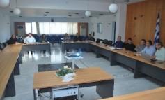 Συνάντηση εργασίας Δήμου Χερσονήσου με εκπροσώπους επαγγελματ. σωματείων