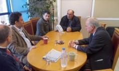 Συνάντηση Δημάρχου Ηρακλείου με Πρόεδρο ΤΕΙ Κρήτης