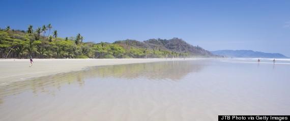 Costa Rica, Nicoya Peninsula, View of Playa Hermosa