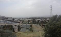 Μεγάλες ζημιές από ανεμοθύελλα στα Μάλια