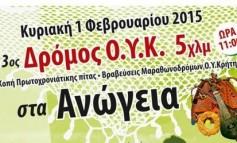 Ο Όμιλος Υπέρ-αποστάσεων Κρήτης κόβει την Πρωτοχρονιάτικη πίτα