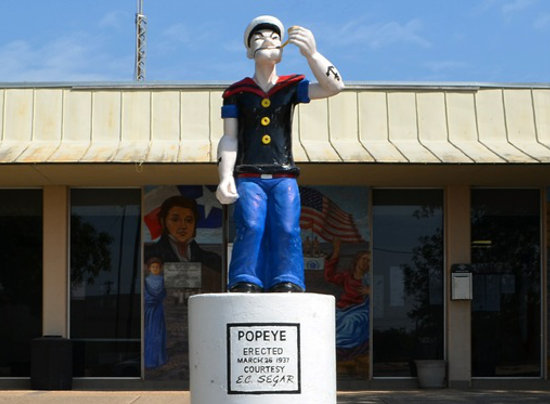 Popeye-Texas