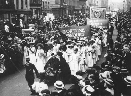 Suffragettes-London