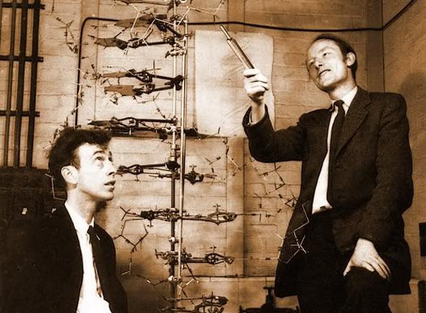 DNA-Francis_Crick-James_Watson