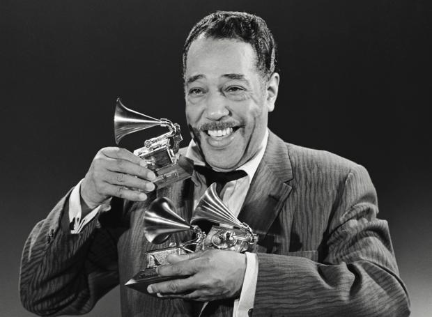 2ND ANNUAL GRAMMY AWARDS -- Pictured: Duke Ellington won Best Performance By a Dance Band, Best Musical Composition First Recorded and Released in 1959 (More than Five Minutes), and Best Soundtrack Album -- Photo by: NBCU Photo Bank