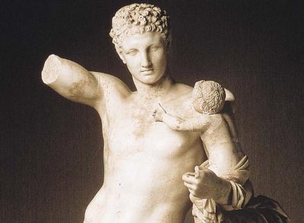 Hermes_by_Praxiteles