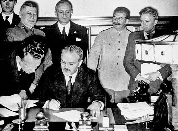 Molotov-Ribbentrop-Stalin