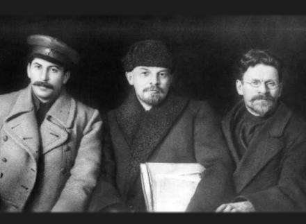 Stalin-Lenin-Trotsky