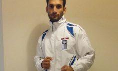 O Κώστας Καλαιτζάκης στο Πανευρωπαϊκό πρωτάθλημα Kick boxing