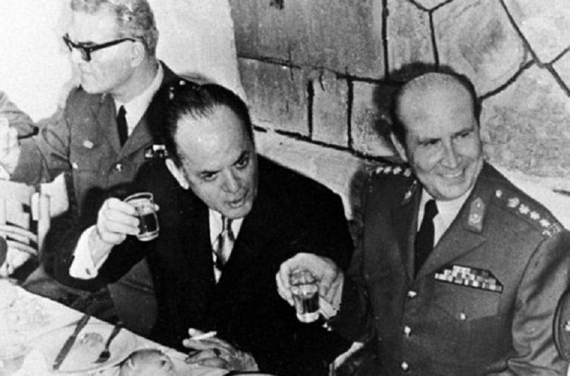 Ανατρέπεται η κυβέρνηση του Σπύρου Μαρκεζίνη και ο ίδιος ο δικτάτορας Γεώργιος Παπαδόπουλος, ο οποίος τίθεται υπό περιορισμό στο σπίτι του στο Λαγονήσι