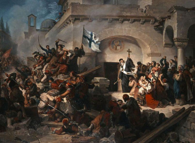 Το ολοκαύτωμα της Μονής Αρκαδίου στην Κρήτη