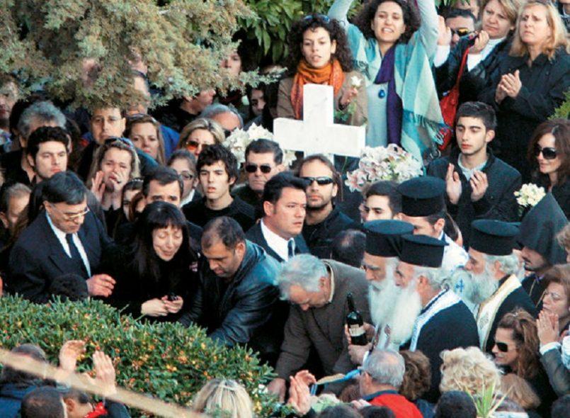 κηδεία Αλέξανδρου Γρηγορόπουλου
