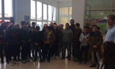 Τα κάλαντα είπαν μαθητές στο Δήμαρχο Γόρτυνας