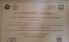 """Ευχαριστήρια διπλώματα από το Σύλλογος ΑΜΕΑ Νότιας Κρήτης """"Το Μελλον"""""""