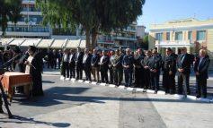 Τιμήθηκε σήμερα στο Ηράκλειο η επέτειος της Εθνικής Αντίστασης