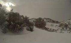Μια πεζοπορία στα χιονισμένα βουνά της Πατσού