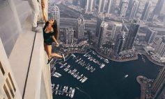 Μοντέλο ρισκάρει τη ζωή της σε ύψος 300 μέτρων για μια φωτογραφία!