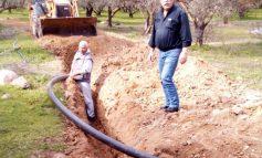 Επέκταση του δικτύου άρδευσης στην έδρα του Δήμου Γόρτυνας