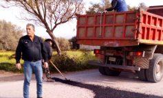 Έκλεισαν οι λακκούβες στο Δήμο Γόρτυνας