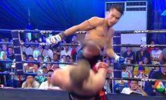 Κίνηση Matrix σε αγώνα Kick boxer