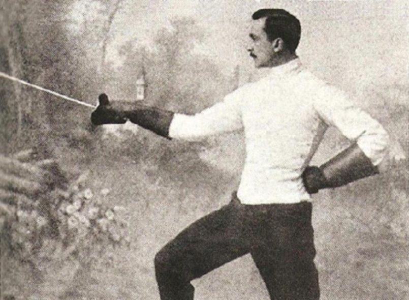 Ιωάννης Γεωργιάδης, καθηγητής της ιατρικής και χρυσός Ολυμπιονίκης της σπάθης στους πρώτους Ολυμπιακούς Αγώνες της Αθήνας