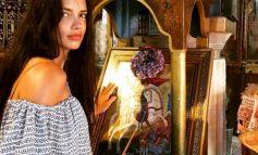 Η Αντριάνα Λίμα και ο Άγιος Γεώργιος