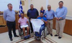 O Σ. Αρναουτάκης συγχαίρει τον Μ Στεφανουδάκη για τα δύο νέα χρυσά μετάλλια