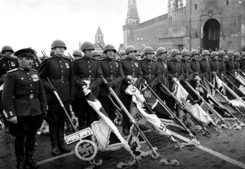 Η Ναζιστική Γερμανία παραδίδεται. Ημέρα της Νίκης