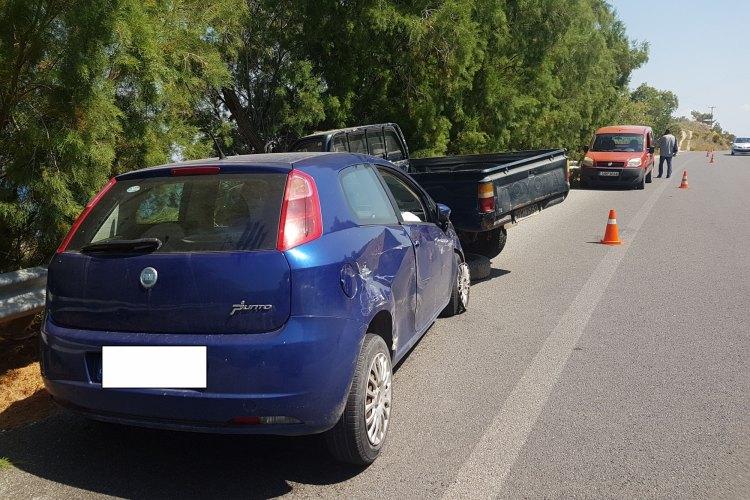 Νέο τροχαίο στην Κρήτη – Πέντε τραυματίες στο ΠΑΓΝΗ