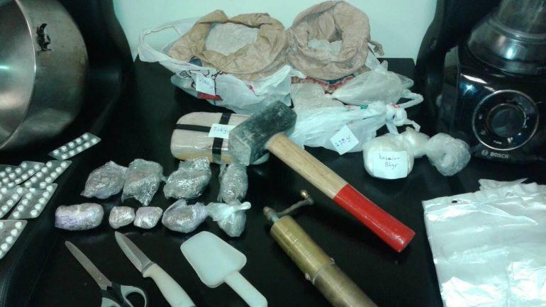 Πάνω από 3 κιλά ηρωίνη μετά από αστυνομική επιχείρηση στο Ηράκλειο