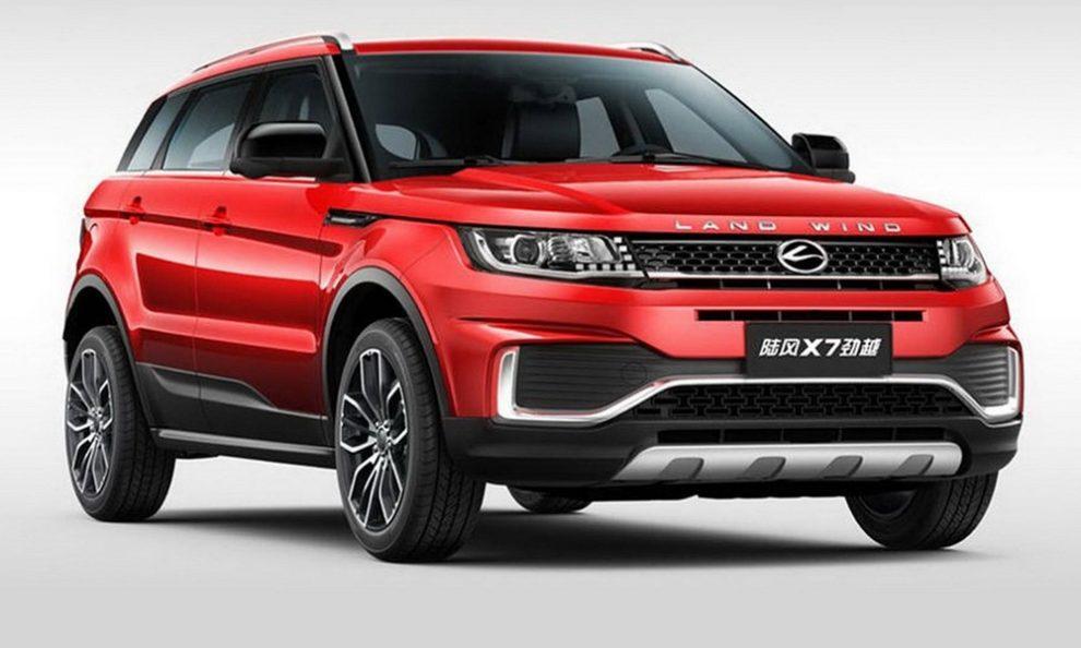 Κινέζοι κλωνοποίησαν το Range Rover Evoque!