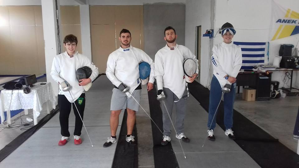 4 Μεσαρίτες αθλητές στο Παγκόσμιο Κύπελλο Νέων Ανδρών της ξιφασκίας