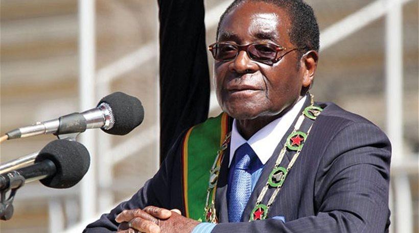 ο πρόεδρος της Ζιμπάμπουε Μουγκάμπε