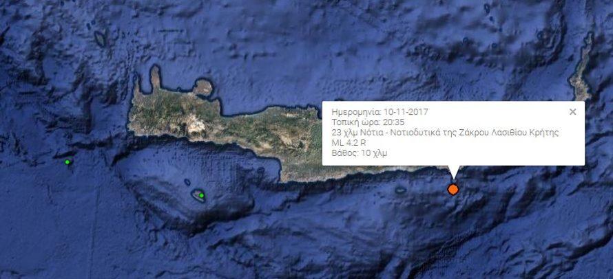 σεισμός Λασίθι