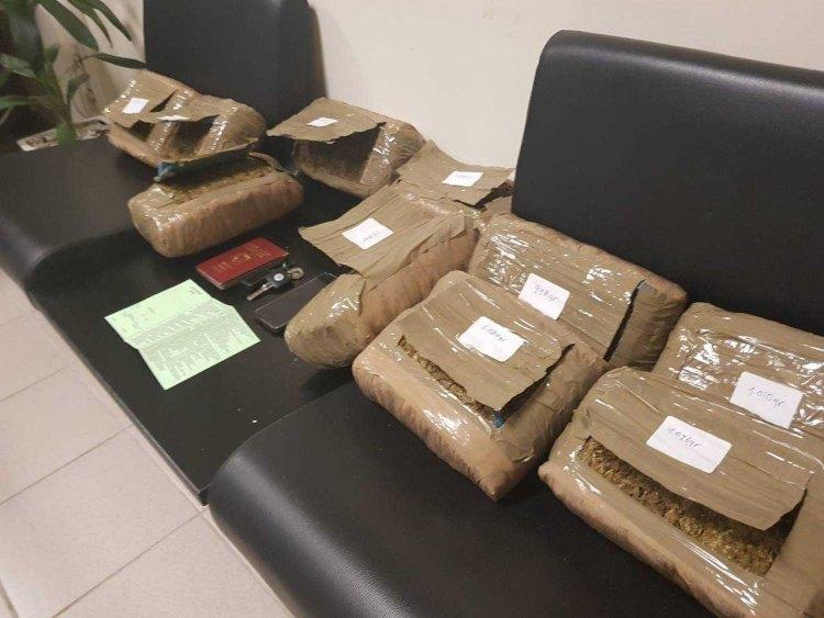 """Ηράκλειο: 26χρονος συνελήφθη στα """"πράσα"""" με 10 κιλά χασίς!"""
