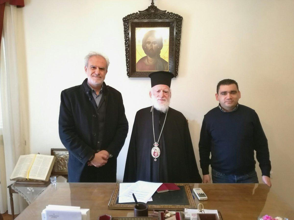 Μαζί ο Δήμος Χερσονήσου με την Αρχιεπισκοπή Κρήτης
