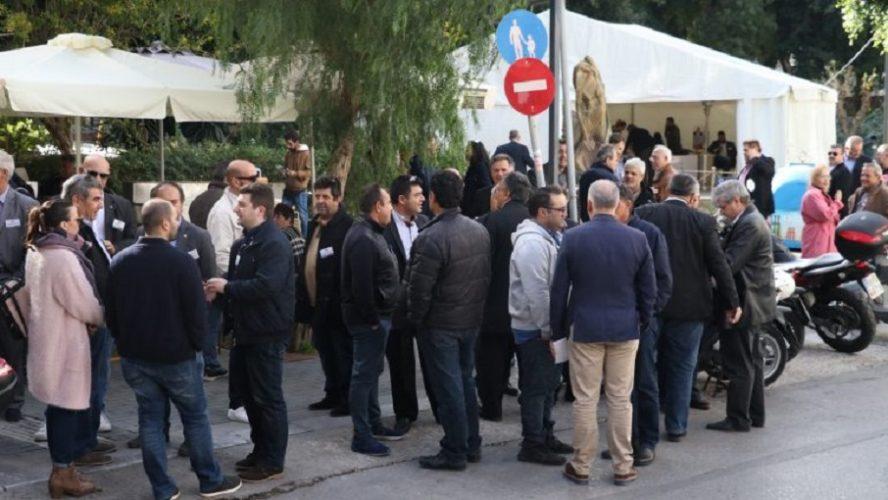 Μεγάλη συμμετοχή στις εκλογές του Επιμελητήριο Ηρακλείου