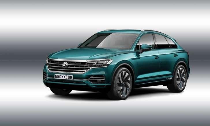 Και κουπέ το νέο VW Touareg;
