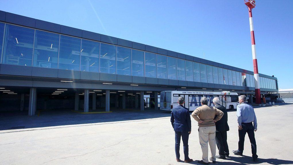 Έτοιμη η νέα πτέρυγα του αεροδρομίου Ηρακλείου
