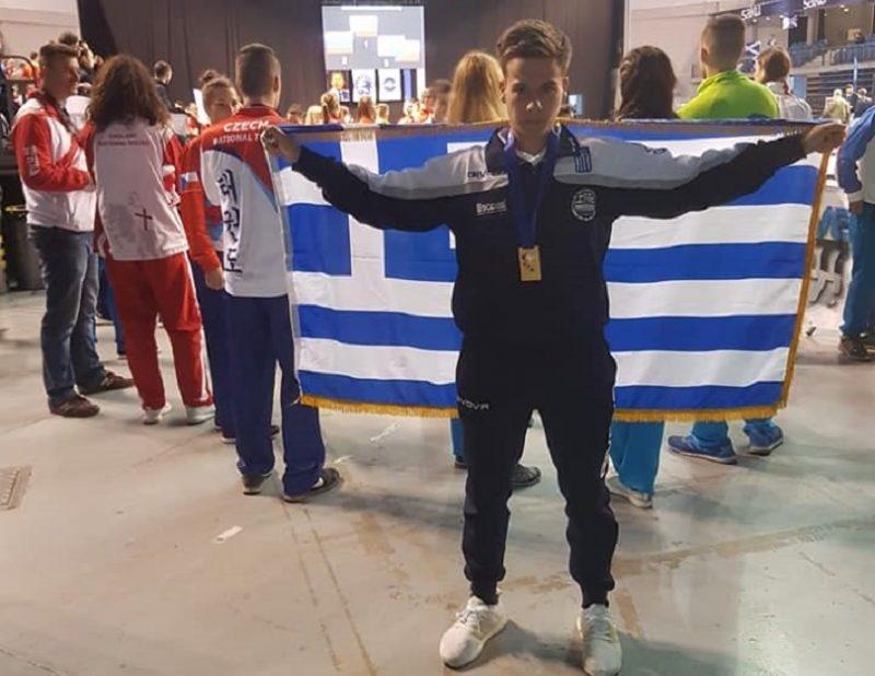 Πρωταθλητής Ευρώπης στο taekwon-do ο Ανδρέας Τζανίδης!
