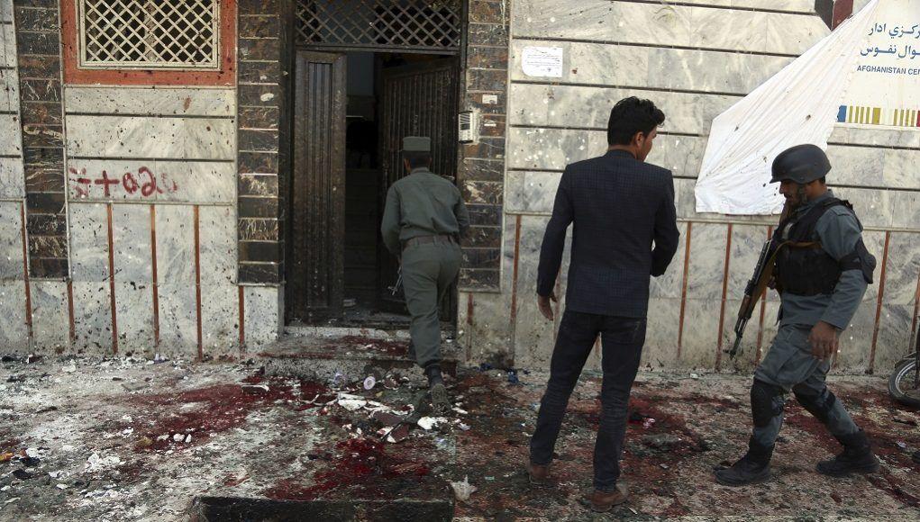 Επίθεση καμικάζι στοά Αφγανιστάν