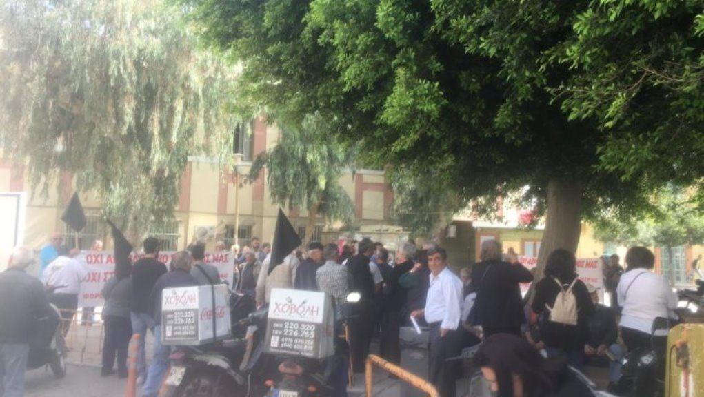 Ένταση στο Δικαστήριο για τις απαλλοτριώσεις του νέου αεροδρομίου στο Καστέλι