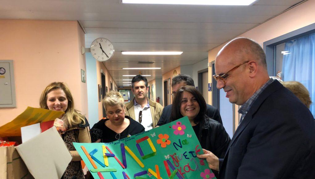 Παιδιά στο Νοσοκομείο Χανίων πήραν δώρα