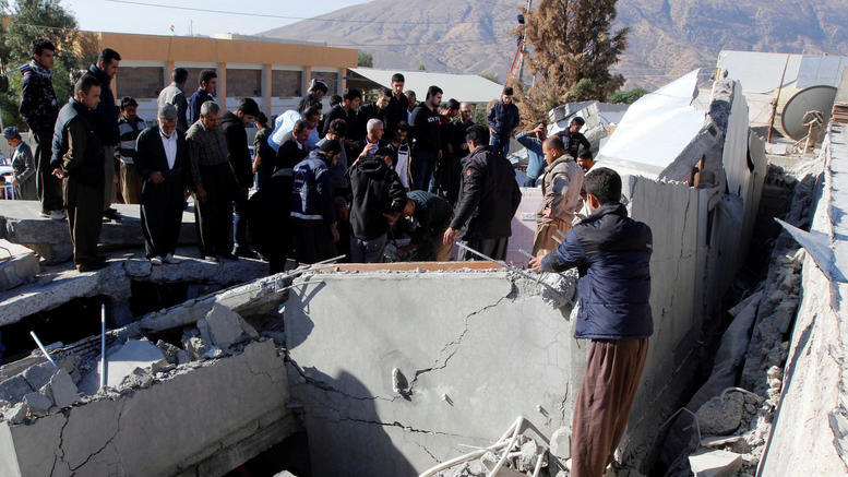 Σεισμική δόνηση 5,9 Ρίχτερ στο Ιράν