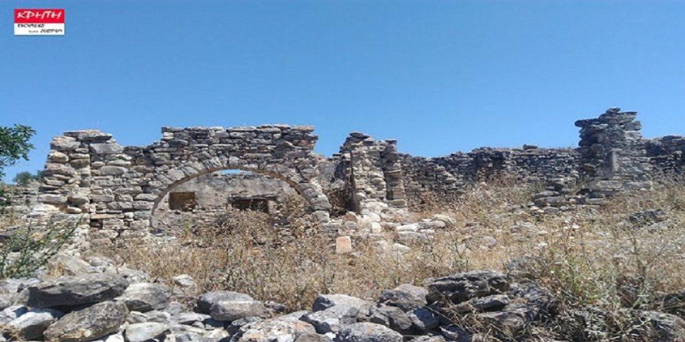 Το εγκαταλελειμμένο χωριό στο Δήμο Γόρτυνας