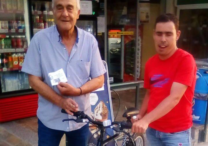 Νικητής της κλήρωσης 2ου Mellonrun για το ποδήλατο
