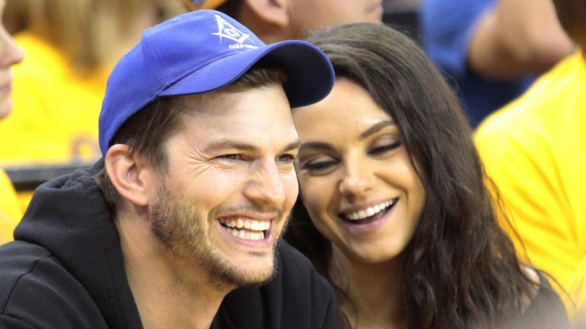 Mila Kunis και ο Ashton Kutcher