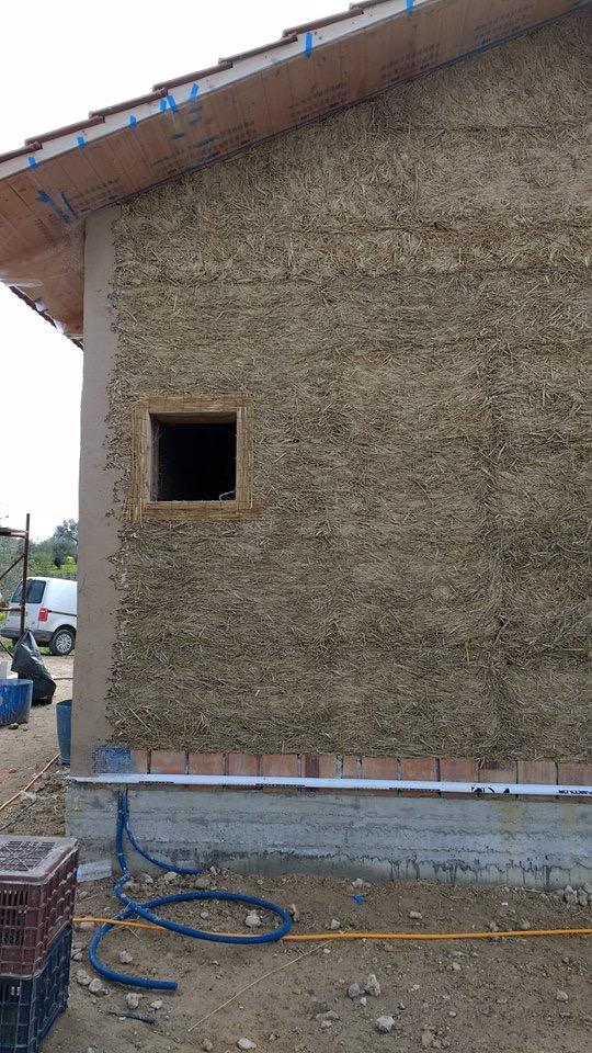 Σπίτι φτιαγμένο με ψιλή